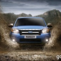: Ford Ranger new спереди