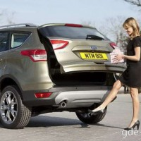 : Ford Kuga new сзади