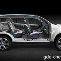 : Chevrolet Trailblazer сбоку
