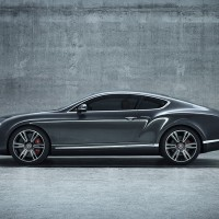 фото Bentley Continental GT V8 сбоку:
